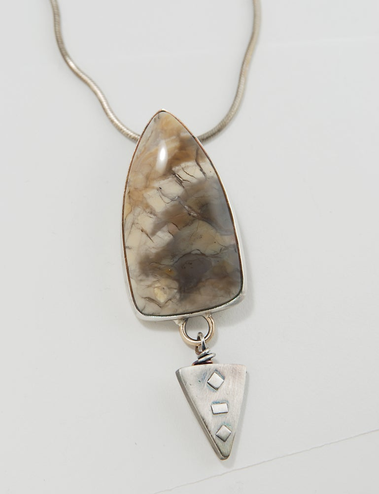 Image of Chapinite Sterling Silver Necklace