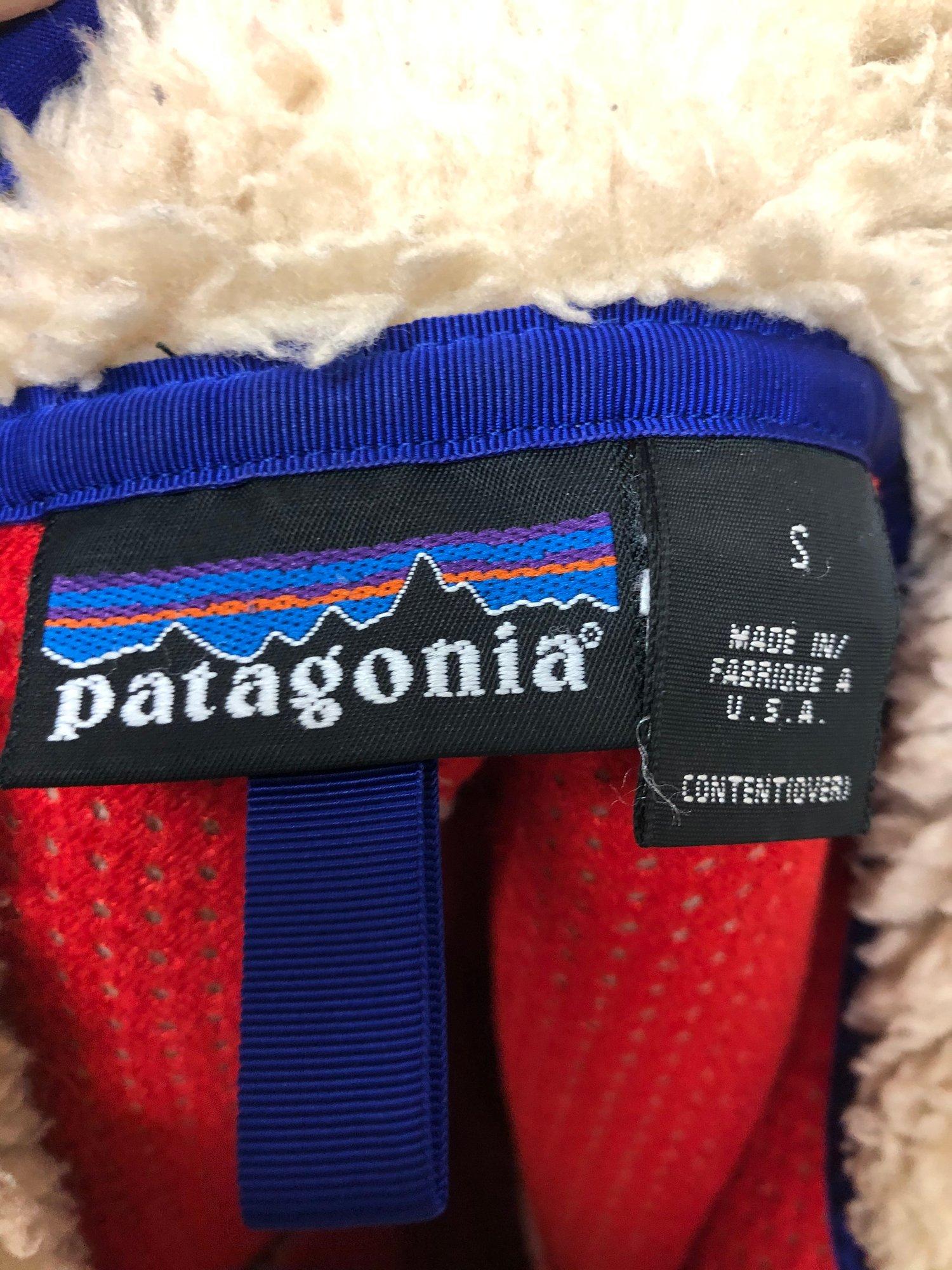 Image of Vintage Patagonia Retro X Pile Jacket Natural S