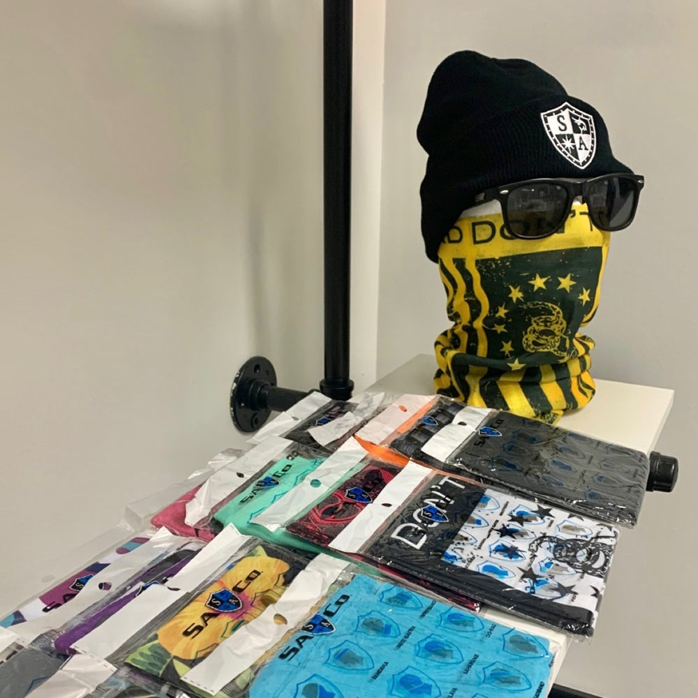 Image of SA Co. Accessories (Faceshields & Hats)