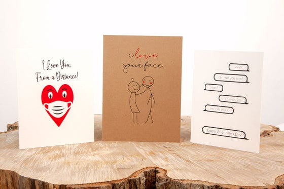 Image of Valentine Card Set