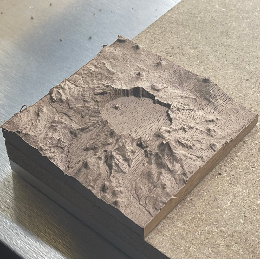3D Topographical Relief