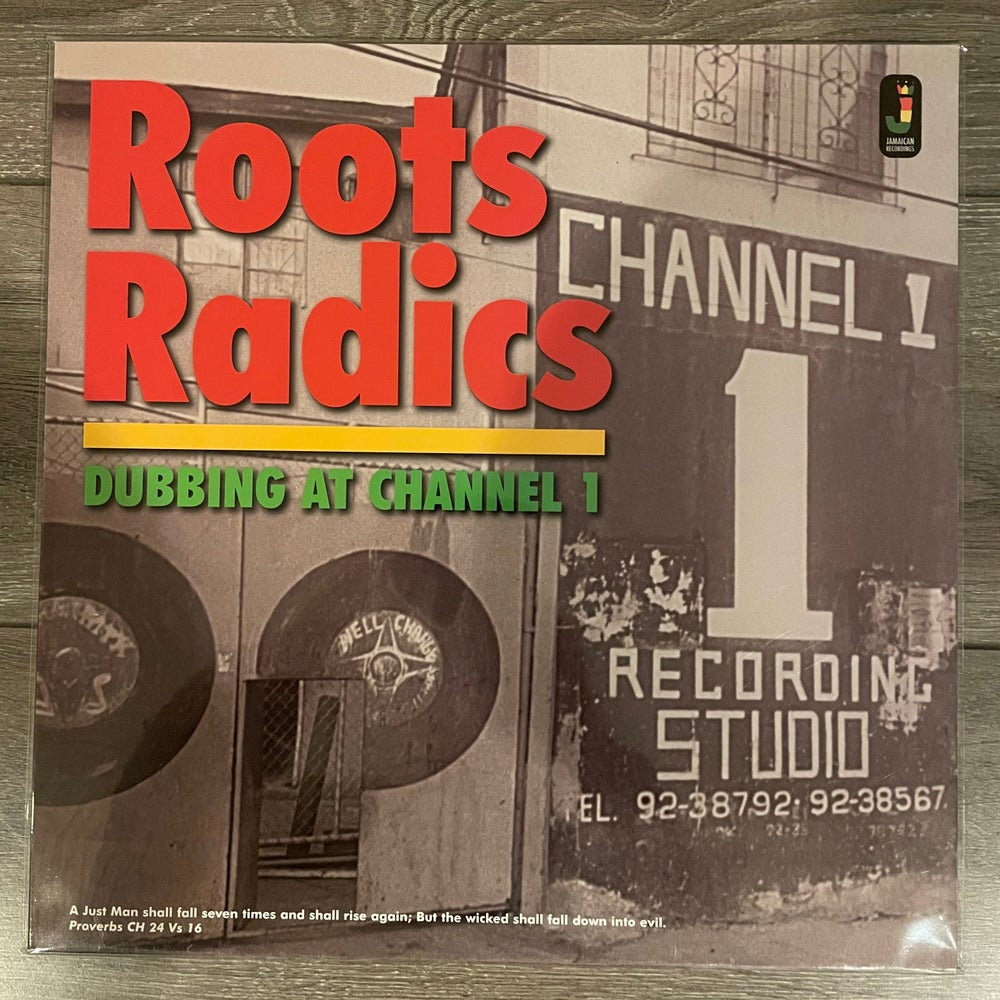 Image of Roots Radics - Dubbing At Channel 1 Vinyl LP
