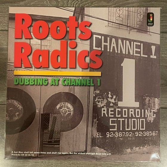 Image of Roots Radics - Dubbing At Channel 1 Vinyl LP
