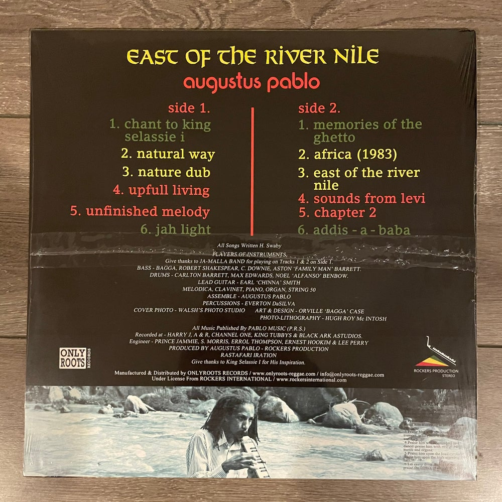 Image of Augustus Pablo - East Of The River Nile Vinyl LP