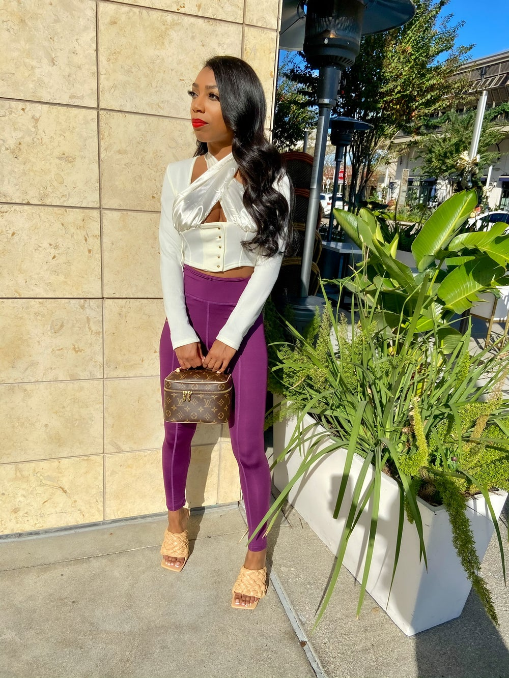 Image of Purple | Leggings