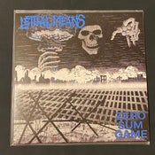 Image of Lethal Means - Zero Sum Game LP