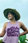 ALOHA ʻĀINA ʻOIAʻIʻO RACERBACK CROPPED TANK