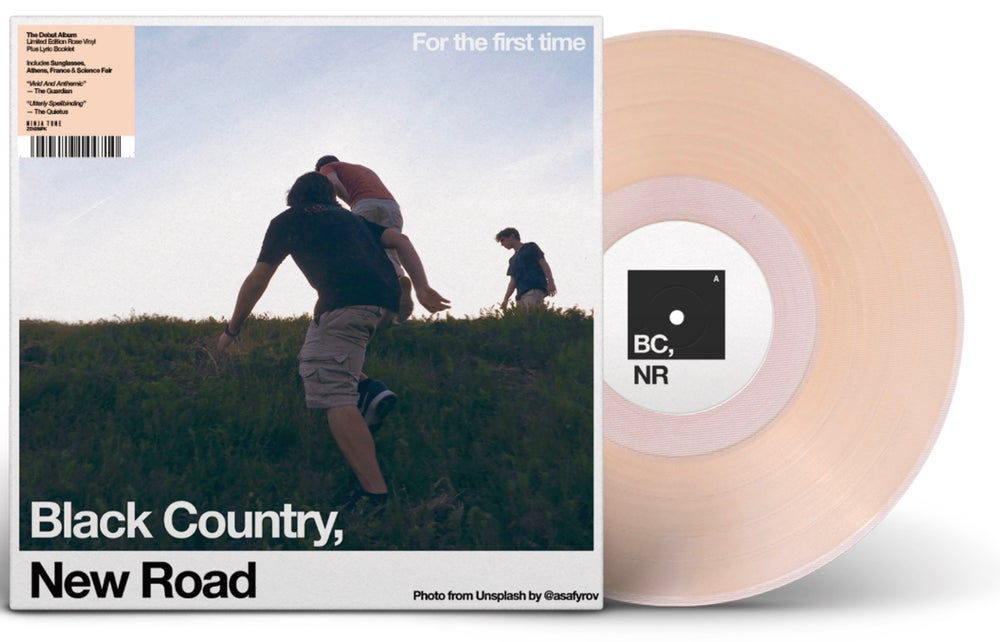 """Image of BLACK COUNTRY, NEW ROAD """"FOR THE FIRST TIME"""" LTD. BIG LOVE EXCLUSIVE JAPAN VINYL."""