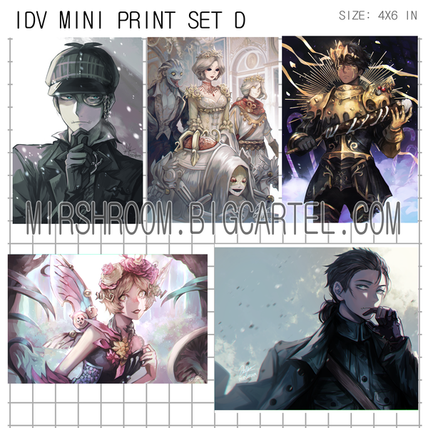Image of IDV Mini Print Set D