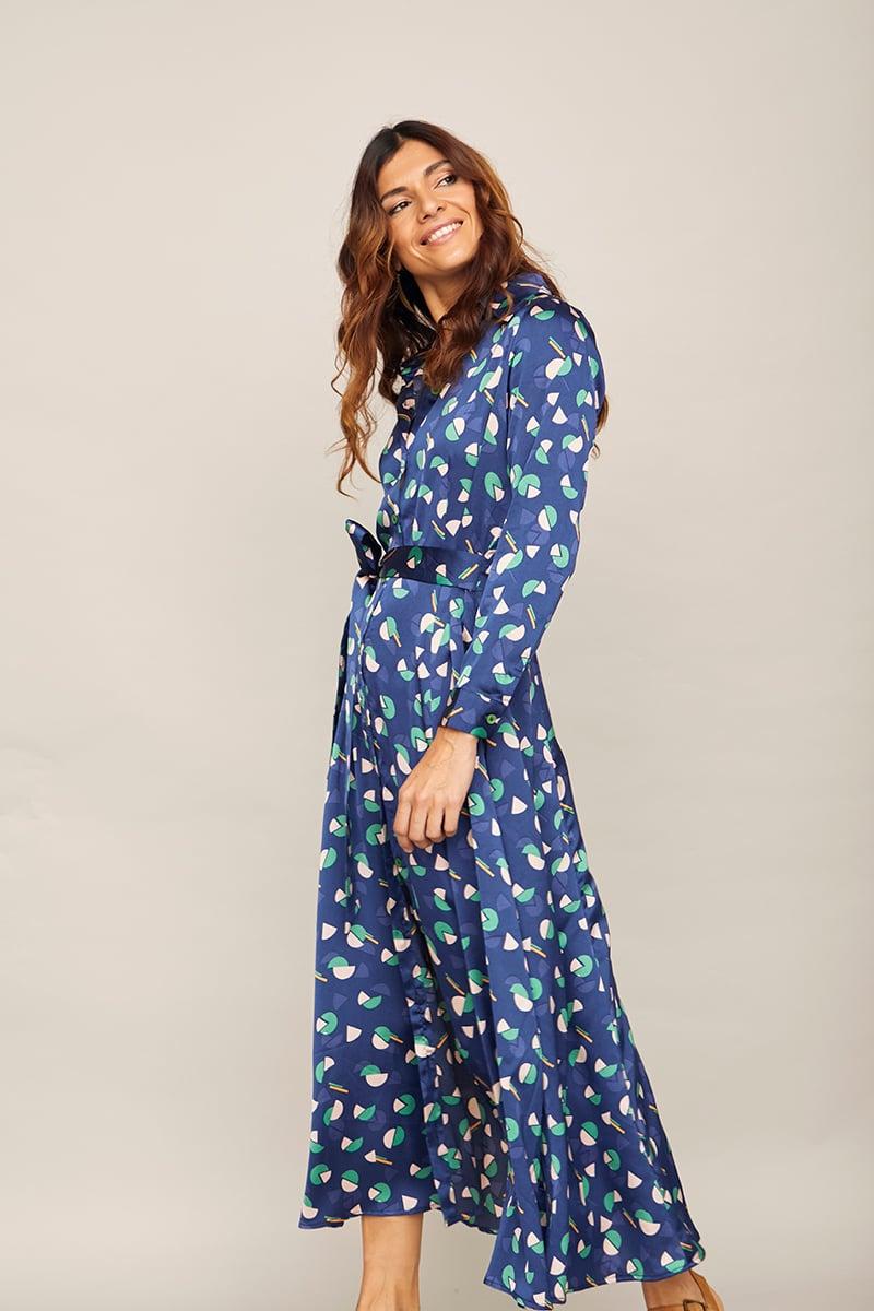 Image of Vestido Melón Azul
