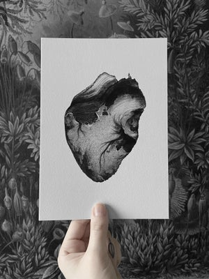 Image of Deserted Print A5
