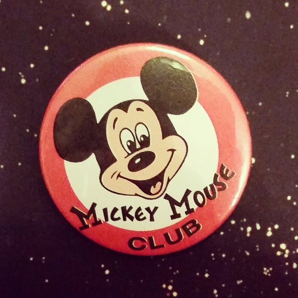 Image of badge mickey mouse club