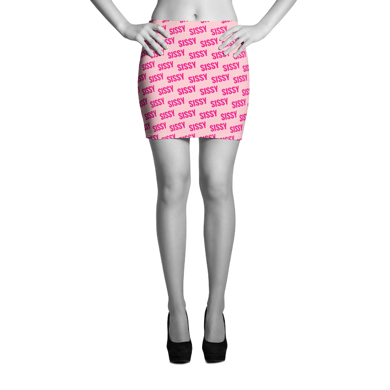 SISSY all over print Mini Skirt