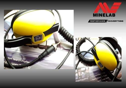 Image of Minelab Equinox Waterproof Headphones