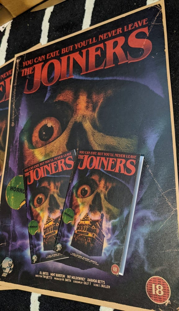 Image of The Joiners - Horror Style A6 Notebook