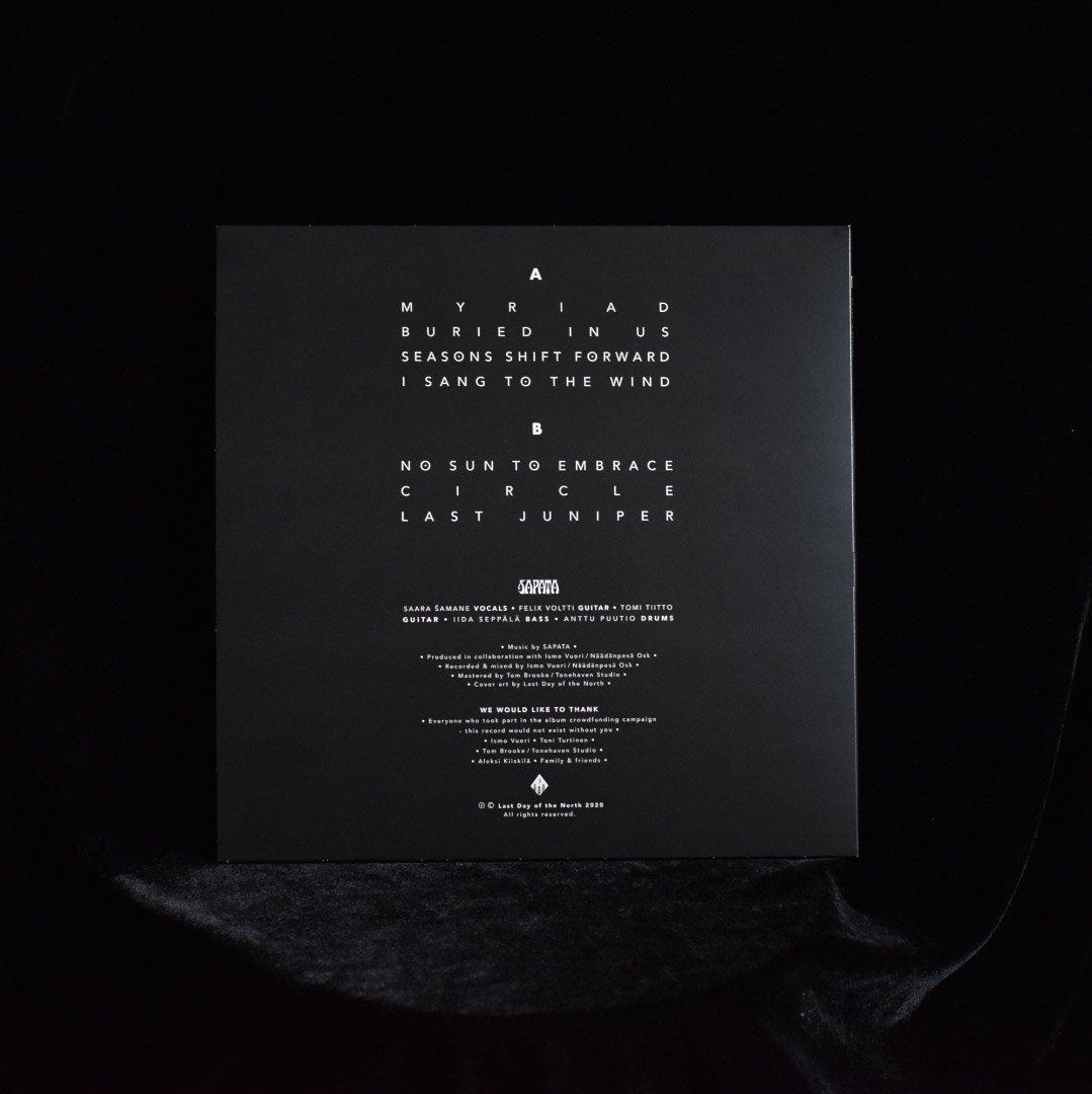 Image of SAPATA   No Sun To Embrace LP