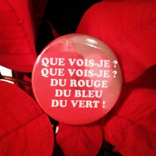 Image of badge l'étrange noël de mr. jack - the nightmare before christmas