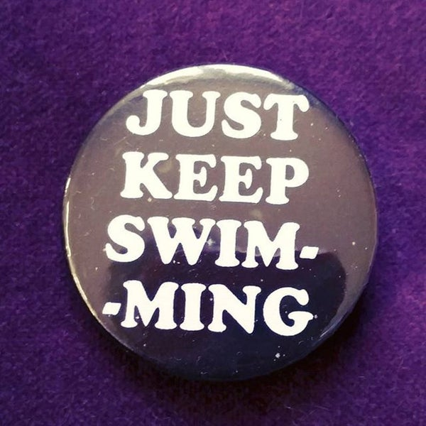 Image of badge le monde de nemo - finding nemo
