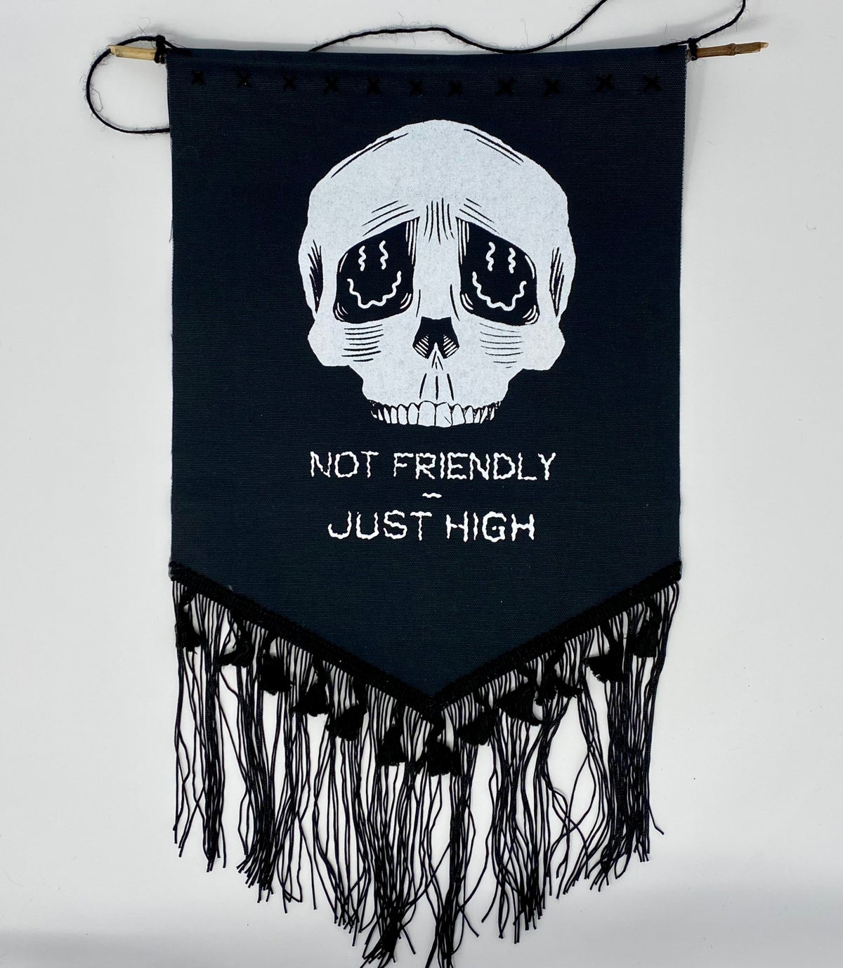 Image of Not Friendly banners