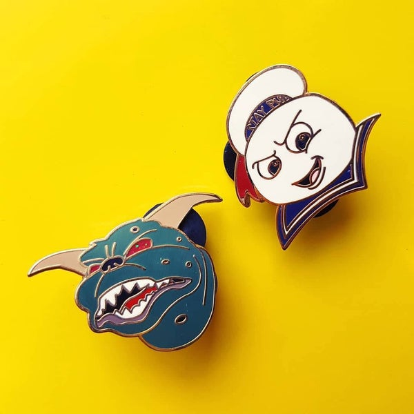 Image of fantasy pin's ghostbusters