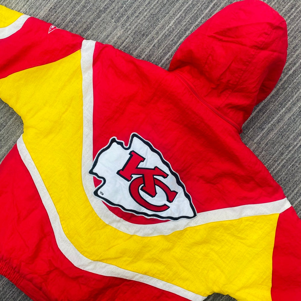 Image of Vintage Kansas City Chiefs Apex One Pullover