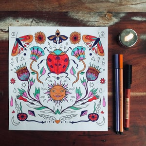 + coloring picture sun +