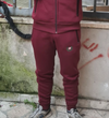 PANTALONE H501 ZIP BORDEAUX