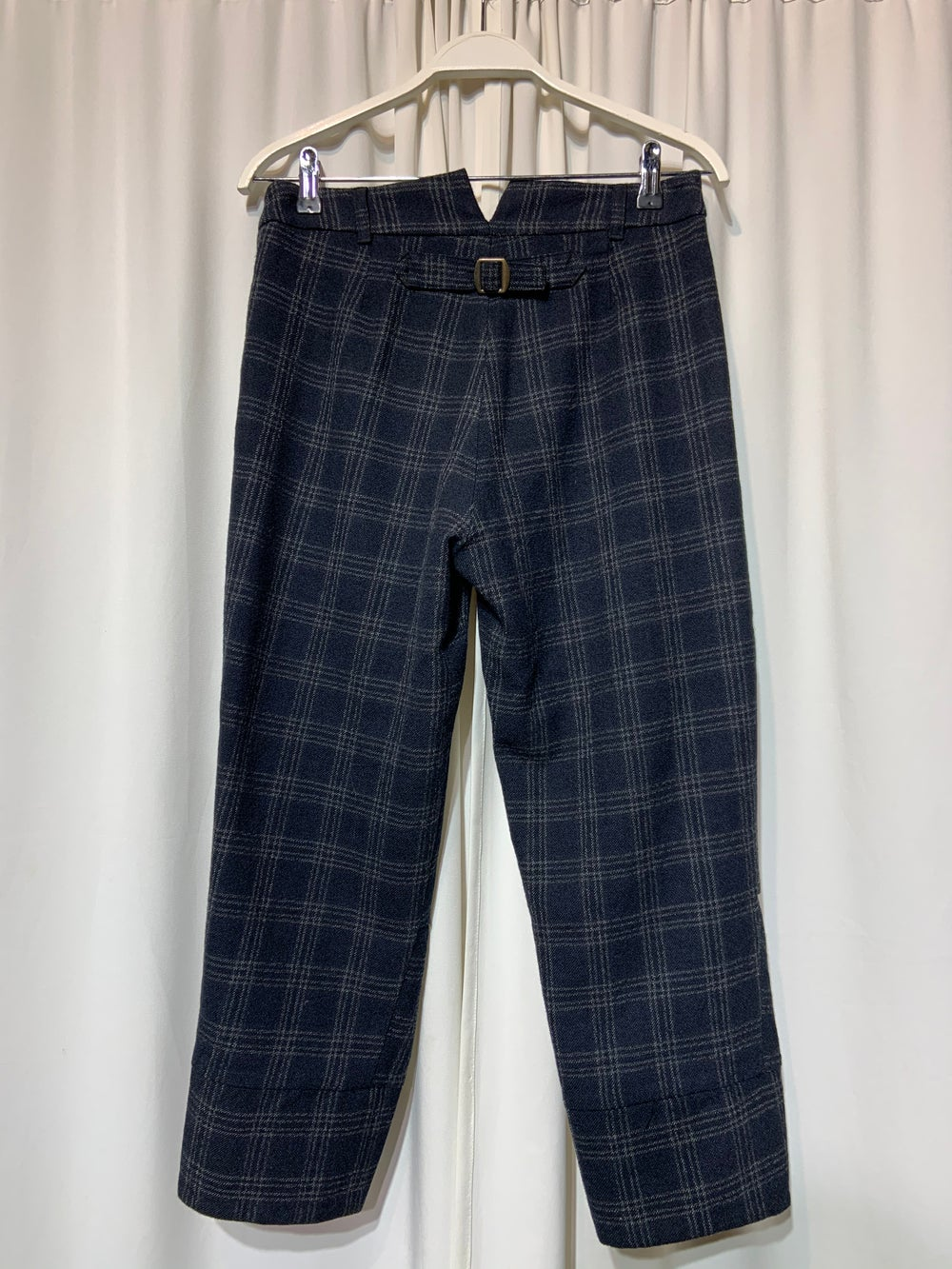 Image of NygardsAnna Checkered Work Trousers