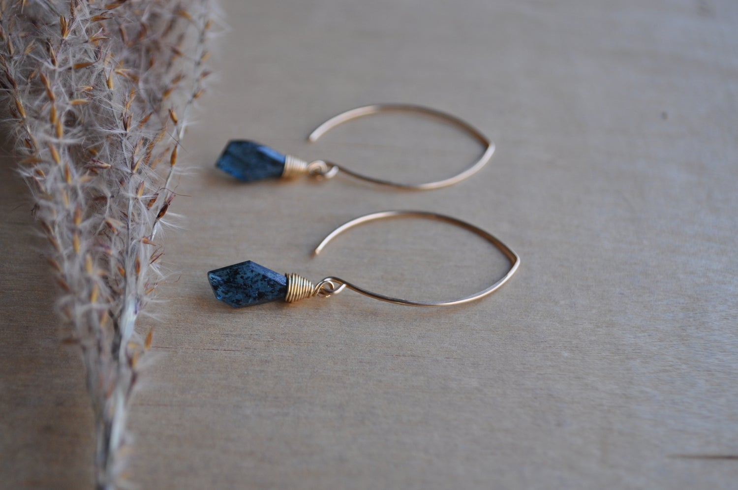 Image of Teal Kyanite Dangles