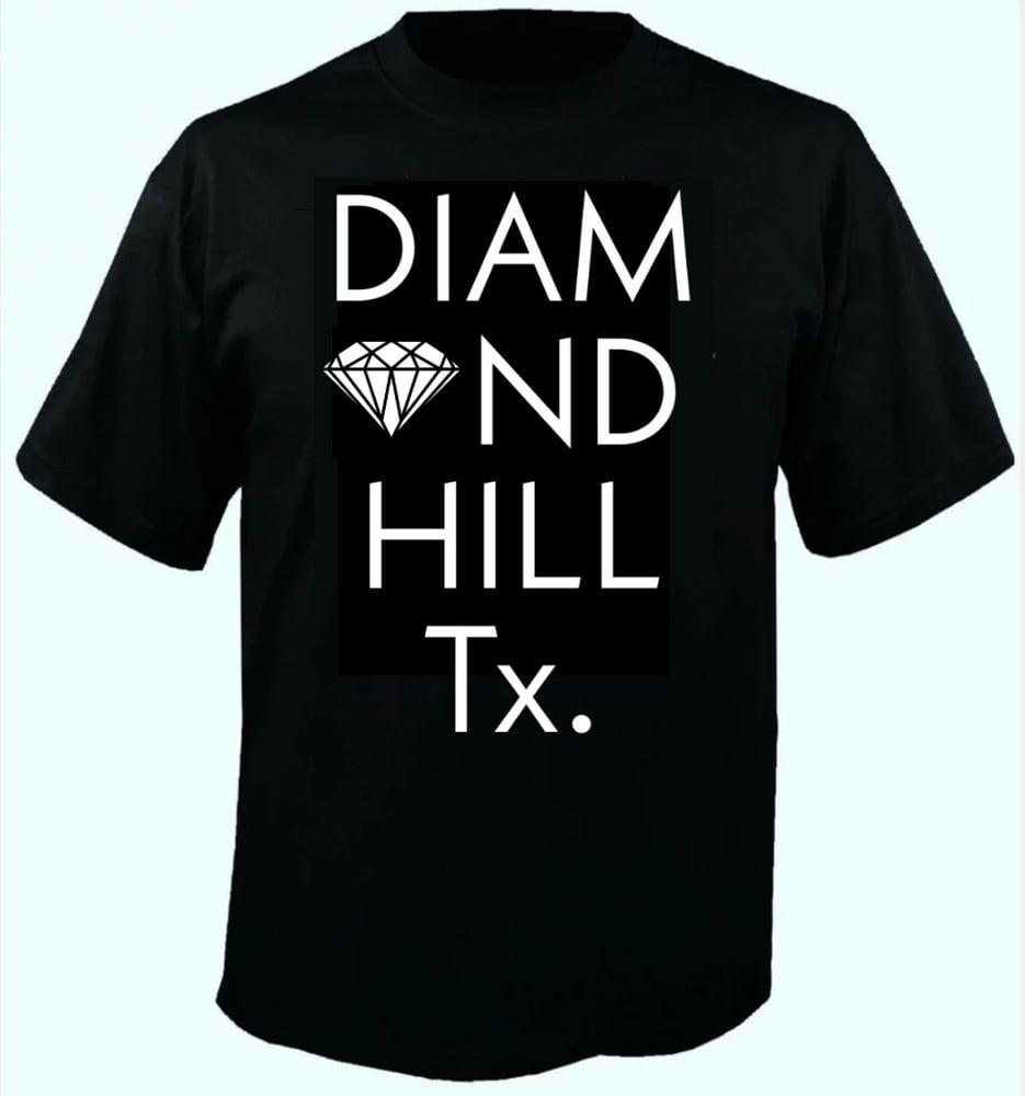 Image of Diamond Hill, Tx. T-shirt