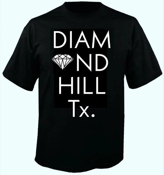 Image of Diamond Hill, Tx. T-shirt PRE-ORDER
