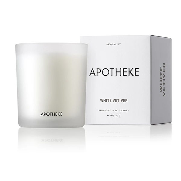 Image of WHITE VETIVER CANDLE