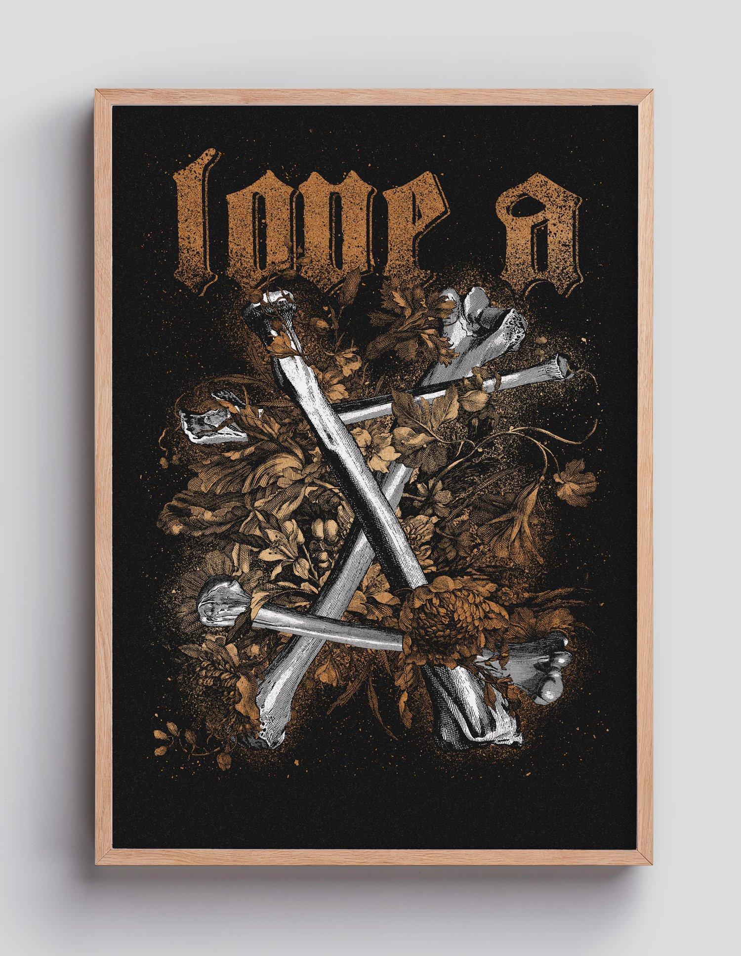 Image of LOVE A X Copper– 35×50
