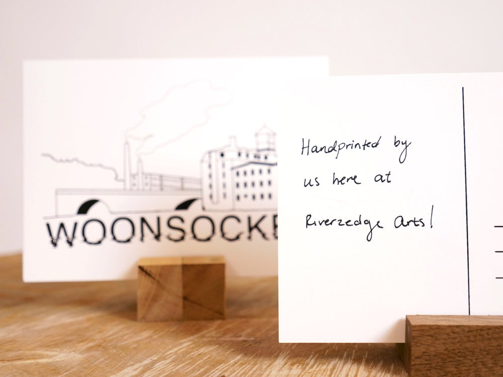 Image of Woonsocket Postcard