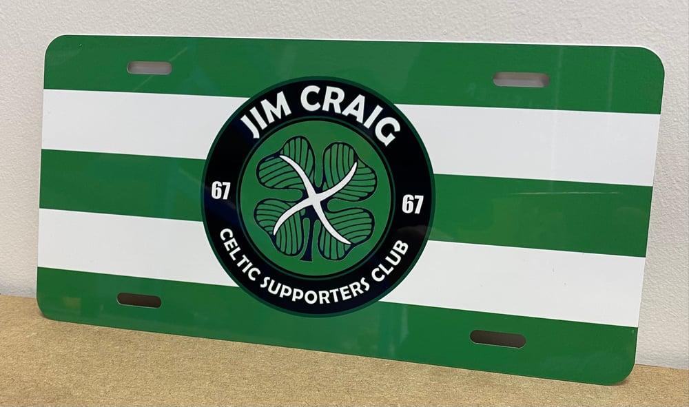 Jim Craig Csc Metal Sign