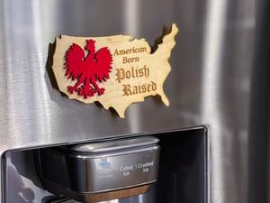 Image of Polish America Magnet