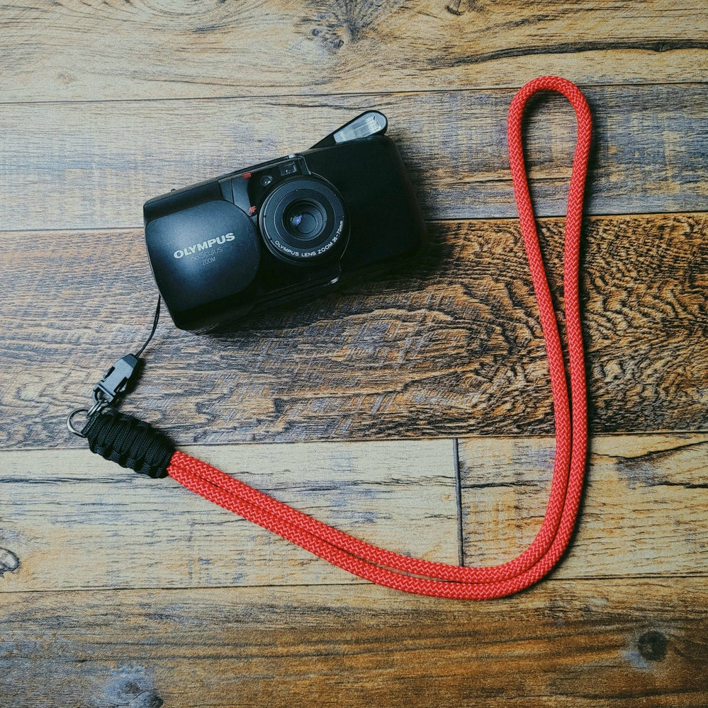 Image of Rope lanyard w/ split ring & quick release buckle attachment