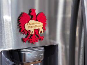 Image of Buffalo Born Polish Magnet