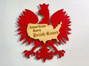 Image of American Born Polish Magnet