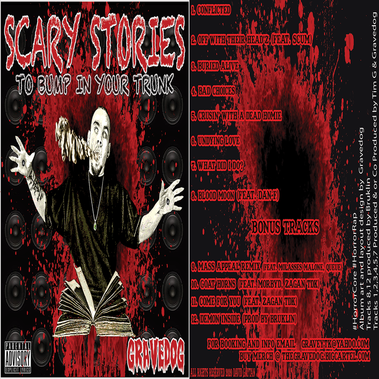 Image of Scary Stories To Bump In Your Trunk CD