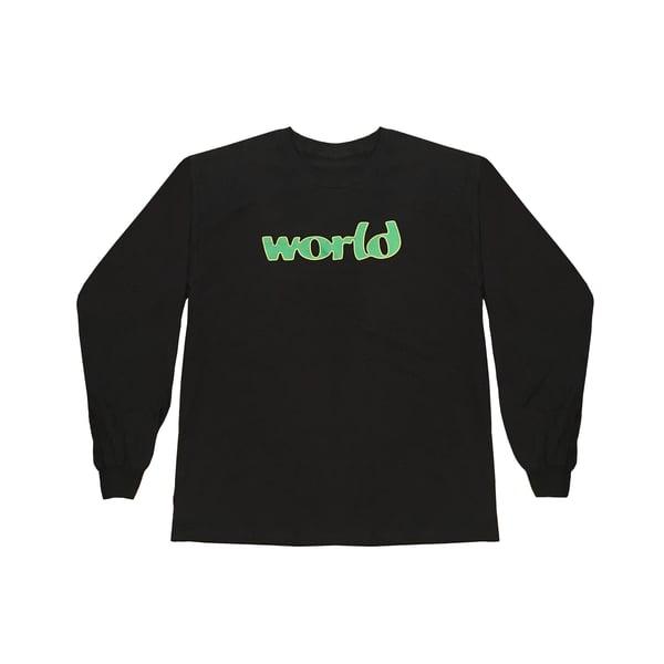 Image of World Long Sleeve - Black