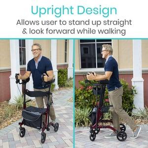 Image of Upright Rollator Walker