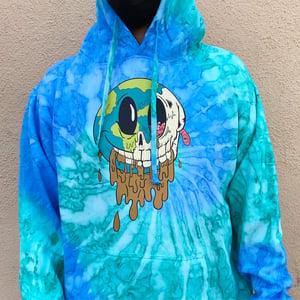 Image of Meltdown Blue Wave Hoodie