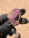 PURPURITE RAW STONES, CHOOSE- NAMIBIA