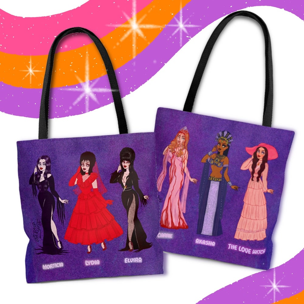 Image of SPOOKY QUEENS TOTE