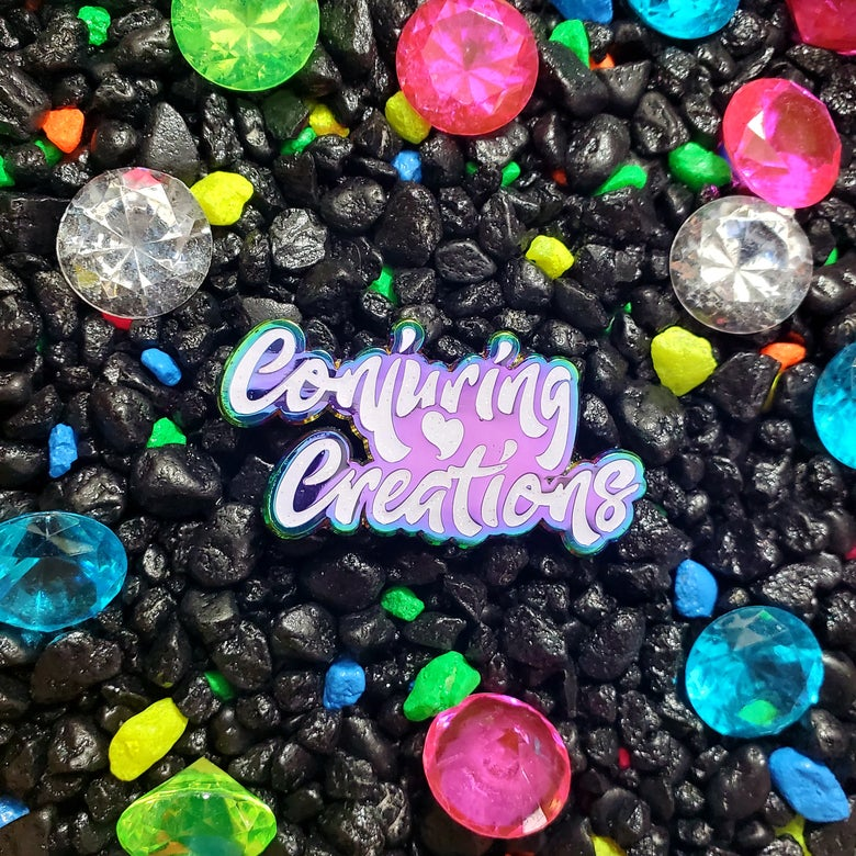 Image of 💎 Opal Conjuring Creations Logo LE 50 Pin 💎