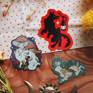 shiny beasts sticker grab bag