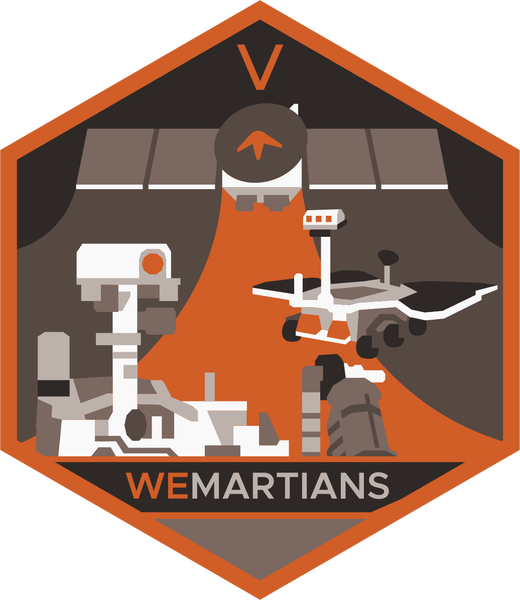 Image of Season 5 (2020) WeMartians Podcast Commemorative Mission Patch - LIMITED EDITION