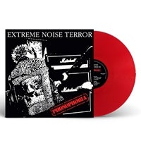 "Image of EXTREME NOISE TERROR - ""PHONOPHOBIA"" 2xLp (RED VINYL)"