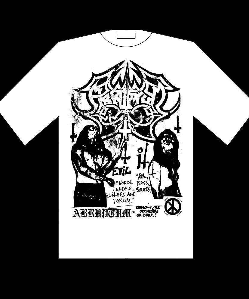 Image of Abruptum - Orchestra of Dark t-shirt